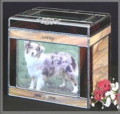 glass pet urnglass urn ashes